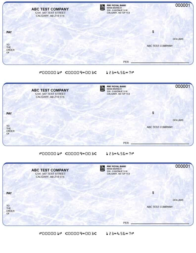 3 up cheques_blue