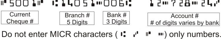 Full Custom Computer Printer Cheques