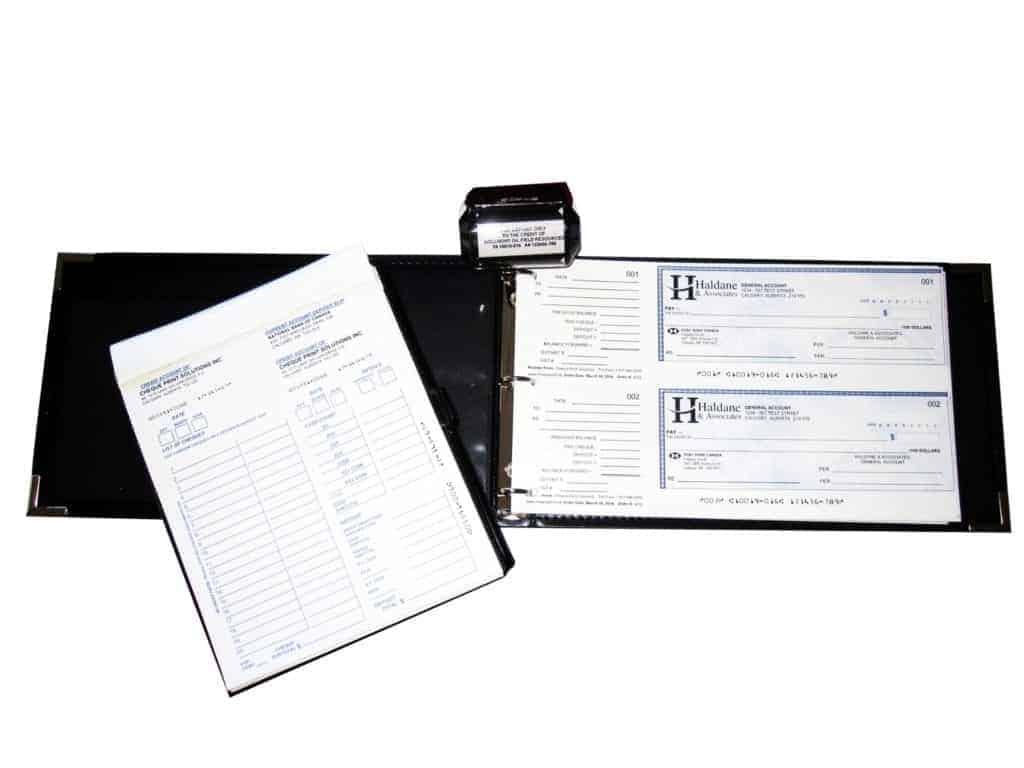 Starter Kit 2-Per Page Premium Cheque Stock